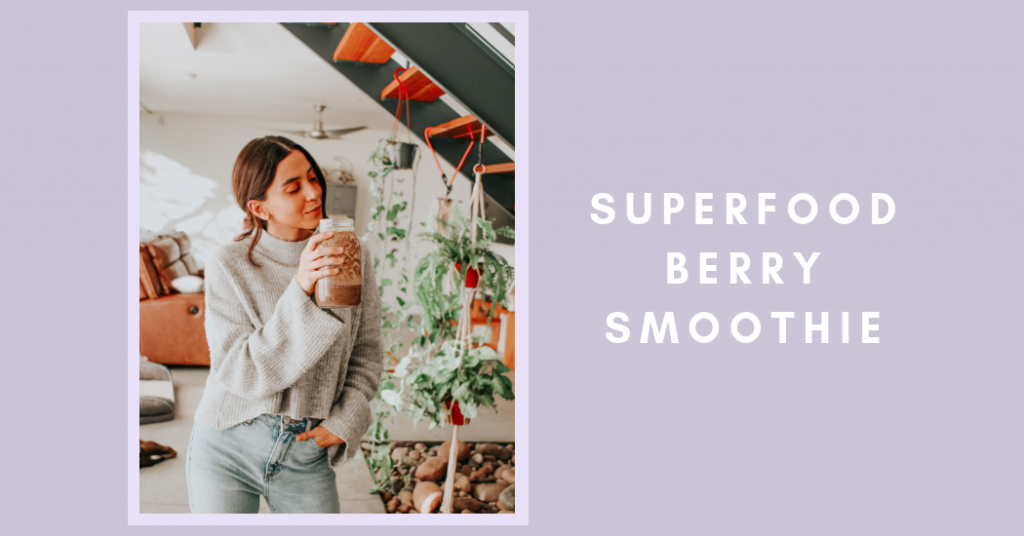 how-to-make-the-perfect-superfood-berry-smoothie