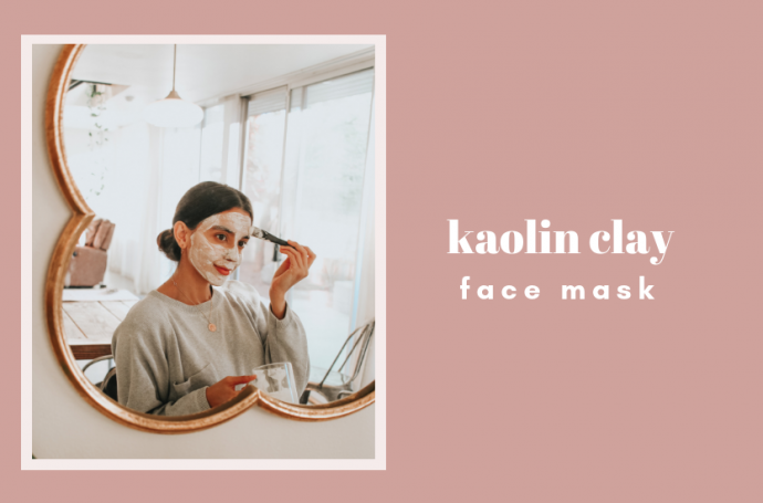 Kaolin-clay-face-mask-Natural-acne-treatment